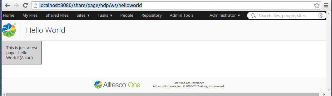 dev-extensions-share-surf-page-helloworld-aikau